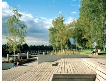 Sandgrundsparken i Karlstad får pris