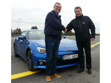Danskt hederspris till Subaru BRZ
