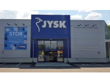 JYSK i Eksjö. Foto: EcoSign Skyltar i Sverige AB