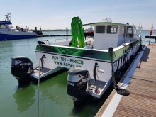 Image - Fischer Panda UK - The 13m ROV1304 ROV inspection and survey boat designed by Fareham-based BW SeaCat for Norwegian company Rov AS, pictured at Seawork International 2018