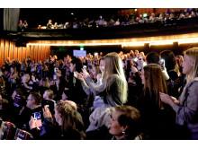 Publiken inne på Rigoletto