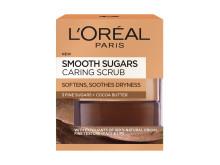 L'Oréal Paris Smooth Sugars Caring Scrub, ravitseva sokerikuorinta
