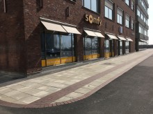 Somfy Showroom för smarta hem på Arenagatan 16 i Malmö