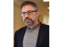 Karl Andersson, biträdande professor i distribuerade datorsystem och verksamhetsledare vid Centrum för distansöverbryggande teknik, CDT på Luleå tekniska universitet.