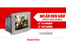Media Markt introducerar årets Tv-upplevelse, MAXDAX