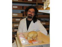 Christos Economou forskare vid institutionen för arkeologi och antikens historia vid Stockholms universitet