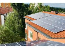 Landstingets första solcellsanläggning