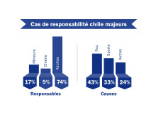 Infographie cas de responsabilité civile majeurs
