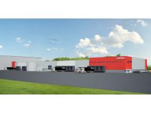Logistikgatan 1 – Catena vill bygga ny fastighet