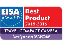 EISA award Sony Cyber-shot DSC-HX90/V