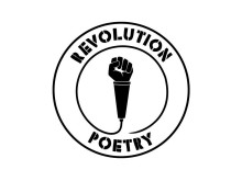 Revolution Poetry logga SVART web