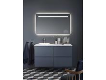 Zone 1200 Åskblå Spegel