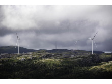 Alle turbiner på plass i Roan vindpark