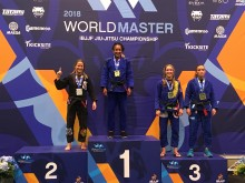 Yas Wilson takes Gold at Black Belt Master 2 Feather Weight