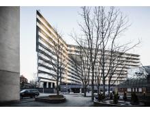 Rosteriet i Liljeholmen. Arkitekt: Kod Arkitekter.