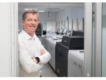 Daglig leder Morten Gunnarshaug har gode forventninger til nyinvesteringen.