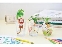 Inspiration till vårens odling - Odlingsset för barn: Självvattnande katt/apa/hund