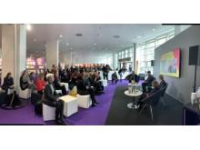 Presentation av nomineringslistan 2020 på bokmässan i Frankfurt