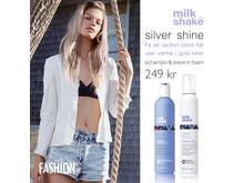 Silver shine vippa