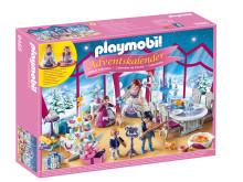 """Im PLAYMOBIL-Adventskalender """"Weihnachtsball im Kristallsaal"""" (9485) feiert die Familie den Heiligabend"""