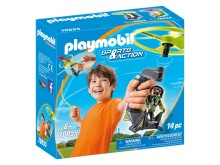 PLAYMOBIL Top Agents Pull String Flyer (70055)