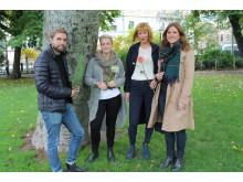 Svenska laget i NM i blomsterbinderi