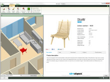 simplebim® integrated the BIMobject portal in the software - screenshot