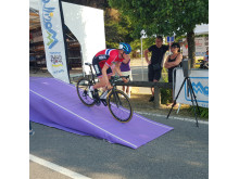 Sindre Lunke under Giro D'Aosta 2015