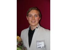 Christoffer Lindhe vann Plastovationer 2014 för sin protesfot i komposit