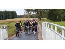 Cyklister från Axvallshållet