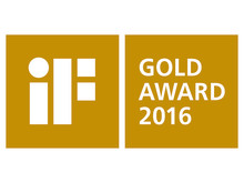 iF Gold Award 2016 logo