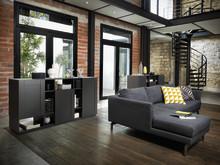 Schmidt living stue moderne reol