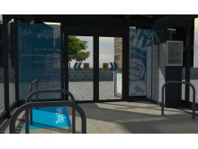 Brand new cycle hub opens