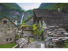 Der Wasserfall von Foroglio im Val Bavona-Tessin© Schweiz Tourismus Fotograf Andreas Gerth