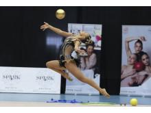 Alva Svennbeck, boll, SM2019 rytmisk gymnastik