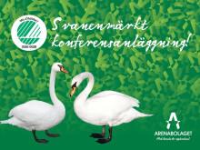 En av Sveriges tre Svanenmärkta dagkonferensanläggningar