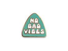 Yoga Girl no bad vibes pin