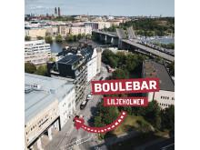 Boulebar Liljeholmen flygbild