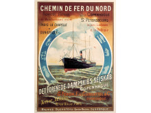 DFDS historisches Poster