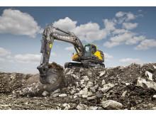 Volvo EC380E grävmaskin - grävning