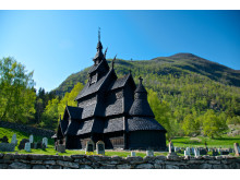 Die Stabkirche von Borgund ist UNESCO Welterbe