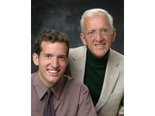 Författarna till hälsoboken Kinastudien: T. Colin Campbell och Thomas M. Campbell II - Kinastudien lanseras i Sverige nu
