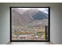 A view of Mount Kazbek in Georgia