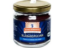 Kung Markatta lanserar KRAV-märkt bärpulver av nordiska blåbär