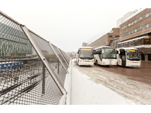 Swebus bussar på Cityterminalen