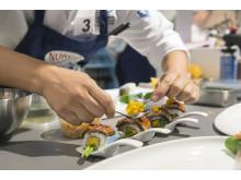 Beim kreativen Original-Sushi wurde viel im international sehr angesagten Crossover-Stil gezeigt
