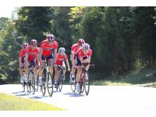 Stake Laengen, Vangstad, Foss m.fler på trening under sykkel-VM 2015