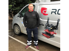 Alan Weaver, Service Manager for Rototilt Ltd