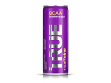 TRUE-latausjuoma kofeiinilla, maku blueberry / acai