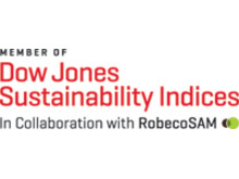 Member of Dow Jones Sustainability Indices (DJSI)